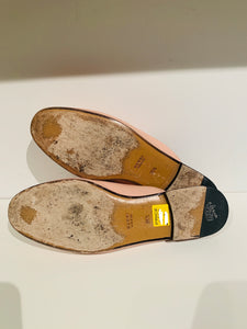 Gucci Nude Princetown Round-Toe Slippers Sz. 36.5