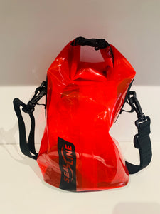 Supreme SealLine Clear Red Discovery Dry Bag