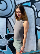 Load image into Gallery viewer, Intermix Turtleneck Sleeveless Top