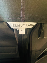 Load image into Gallery viewer, Helmut Lang Black Leather Mini Skirt