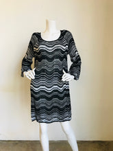 Load image into Gallery viewer, Missoni Multicolor Long Sleeve Knit Dress