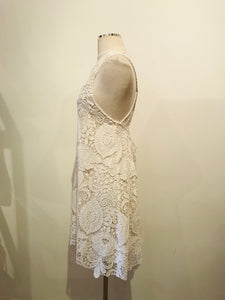 Alexis White Lace Short Dress
