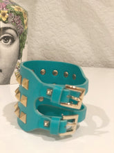 Load image into Gallery viewer, Valentino Wide Rockstud Bracelet