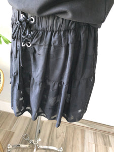 IRO Black Mini Skirt