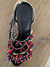 Load image into Gallery viewer, Tory Burch Beaded Sandals