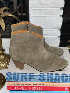Isabel Marant Étoile Suede Western Boots