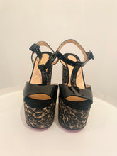 Load image into Gallery viewer, Christian Louboutin Black Patent Leather Platforms Sz. 37