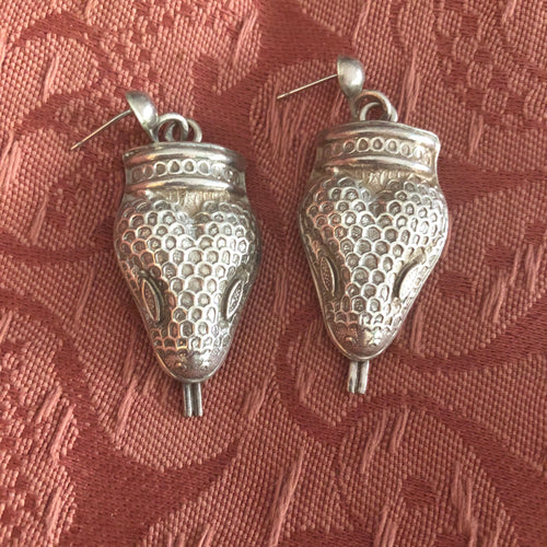 Vintage Snake Earrings
