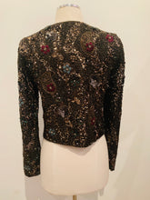 Load image into Gallery viewer, Alice + Olivia  Multicolor  Embellished Cropped Jacket