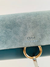 Load image into Gallery viewer, Chloe Grey Faye Wallet On Strap Crossbody Bag