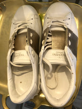 Load image into Gallery viewer, Valentino Rockstud Accents Leather Sneakers Sz 37