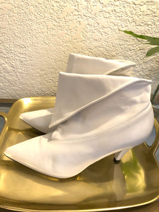 Givenchy Leather Ankle Boots Sz 37.5