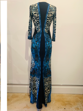 Load image into Gallery viewer, Roberto Cavalli Printed Maxi Dress Size S