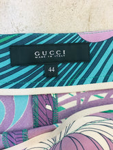 Load image into Gallery viewer, Gucci Multicolor Printed Silk Shorts