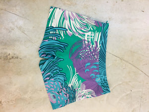 Gucci Multicolor Printed Silk Shorts