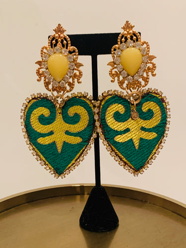 Katherine Cordero Multicolor Earrings
