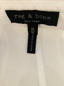 Rag & Bone White Shirt Dress