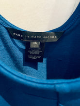 Load image into Gallery viewer, Marc by Marc Jacobs Blue Sleeveless Mini Dress