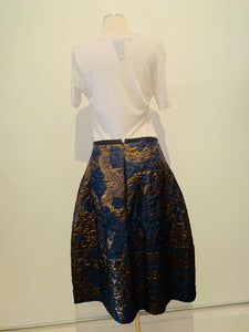 Odeeh Multicolor Midi Skirt