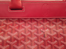 Load image into Gallery viewer, Goyard Red Goyardine Bellechasse GM Bag