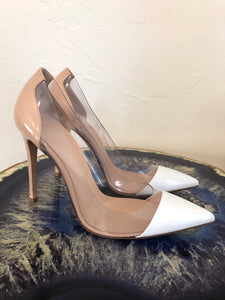 Gianvitto Rossi PVC Colorblock Pumps 38