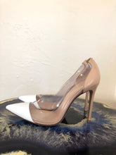 Load image into Gallery viewer, Gianvito Rossi PVC Colorblock Pumps 38