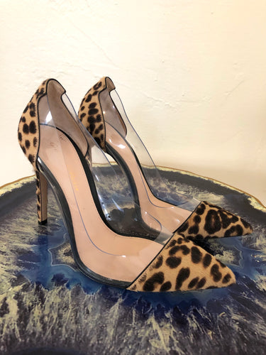 Gianvito Rossi Plexi Pumps 38