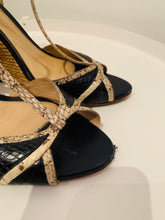 Load image into Gallery viewer, Alexandre Birman Snakeskin Wedge 41