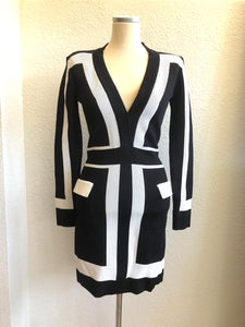 Balmain Long Sleeve Mini Dress sz. 36