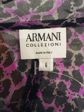 Load image into Gallery viewer, Armani Collezioni Multicolor Silk Top