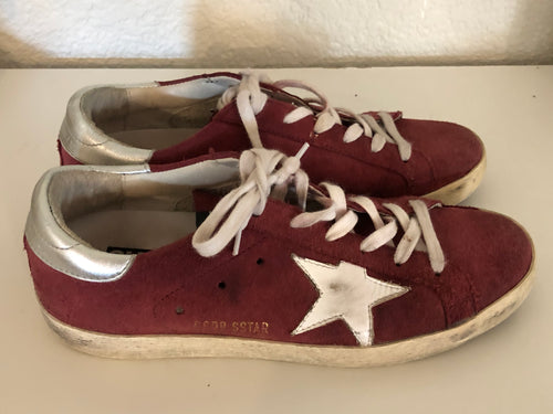 Golden Goose Suede Low Top Sneakers sz. 38