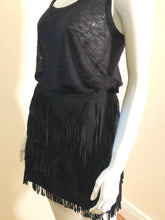 Load image into Gallery viewer, Alice + Olivia Fringe Skirt