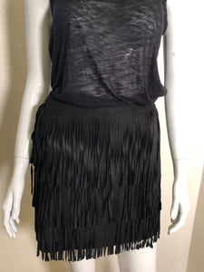 Alice + Olivia Fringe Skirt