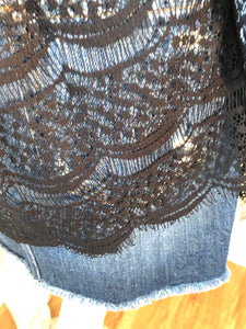 Marissa Webb Lace Shirt