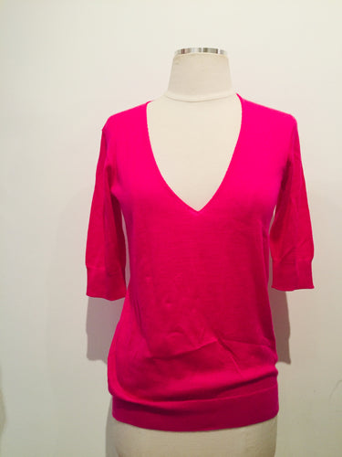 Balenciaga Pink Knit Top