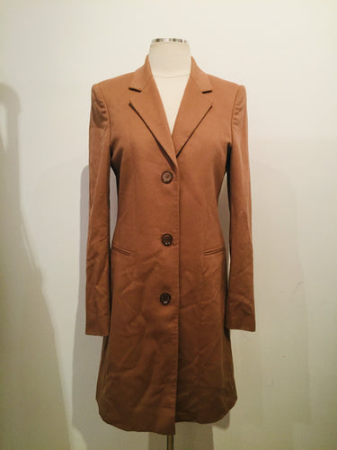 Burberry  Camel Long Cashmere Coat