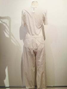 Isabel Marant Creme Straight-Leg Pants