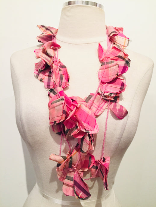 Marni Pink Bead Strand Necklace