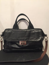 Load image into Gallery viewer, Marni Black Leather Shoulder Bag