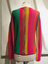 Load image into Gallery viewer, Missoni Multicolor Long Sleeve Knit Cardigan