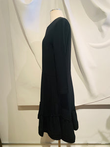 Chloé Black Flared Mini Dress