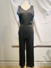 Load image into Gallery viewer, Giorgio Armani Grey Wide-Leg Sleeveless Jumpsuit