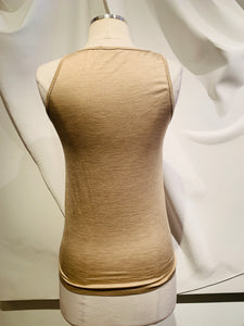Brunello Cucinelli Nude Tank Top