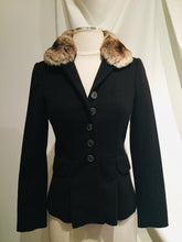 Load image into Gallery viewer, Luciano Barbera Black Cashmere Jacket