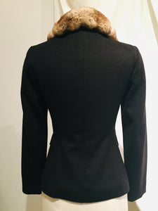Luciano Barbera Black Cashmere Jacket
