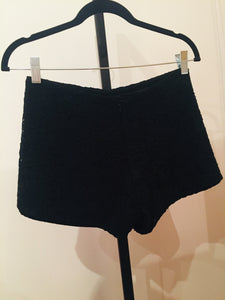 Alexis Black Lace Short