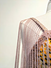 Load image into Gallery viewer, Missoni Multicolor Fringe Tank Top Sz. 38