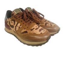 Load image into Gallery viewer, Valentino Rockrunner Ponyhair Sneakers 38