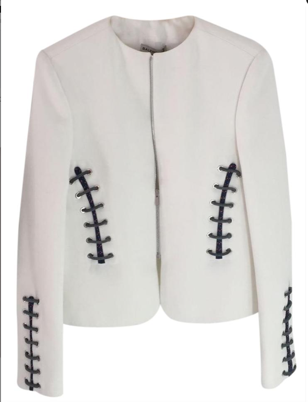 Balenciaga white jacket
