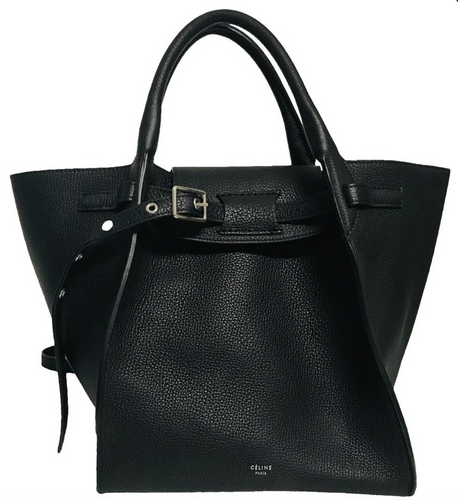 Celine Black Leather Small Bag